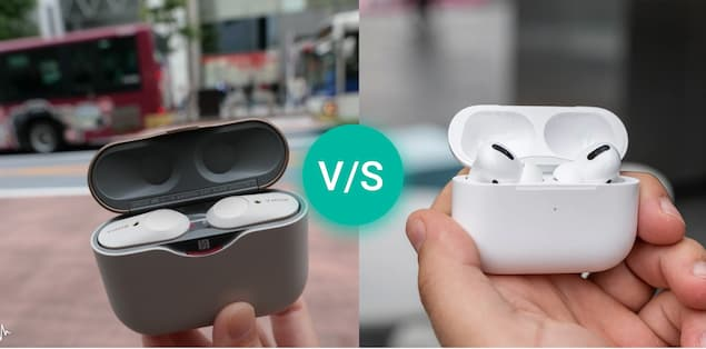Sony WF1000XM3 Wireless Earbuds vs Apple AirPods Pro - Comparison Based on Voice Assistants