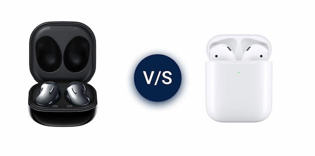 Apple AirPods vs Samsung Galaxy Buds Live Comparison